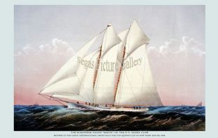Schooner Yacht - Magic